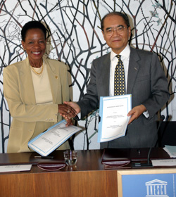 Director of the UN Habitat signed a Memorandum of Understanding